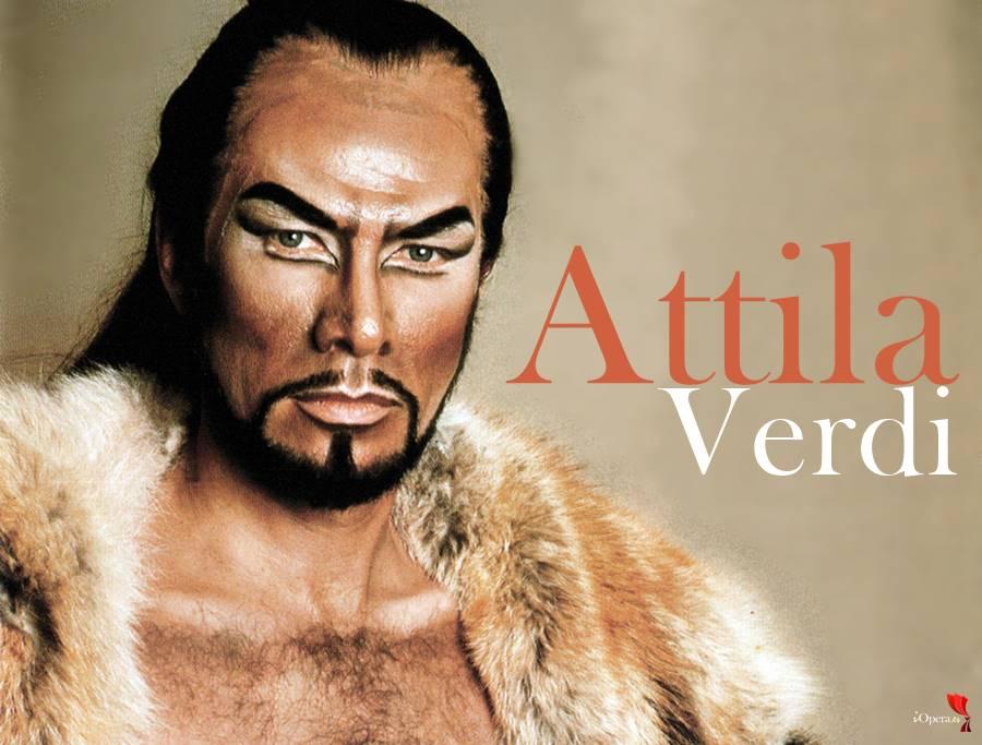 Attila de Verdi en la Scala con Muti y Ramey vídeo