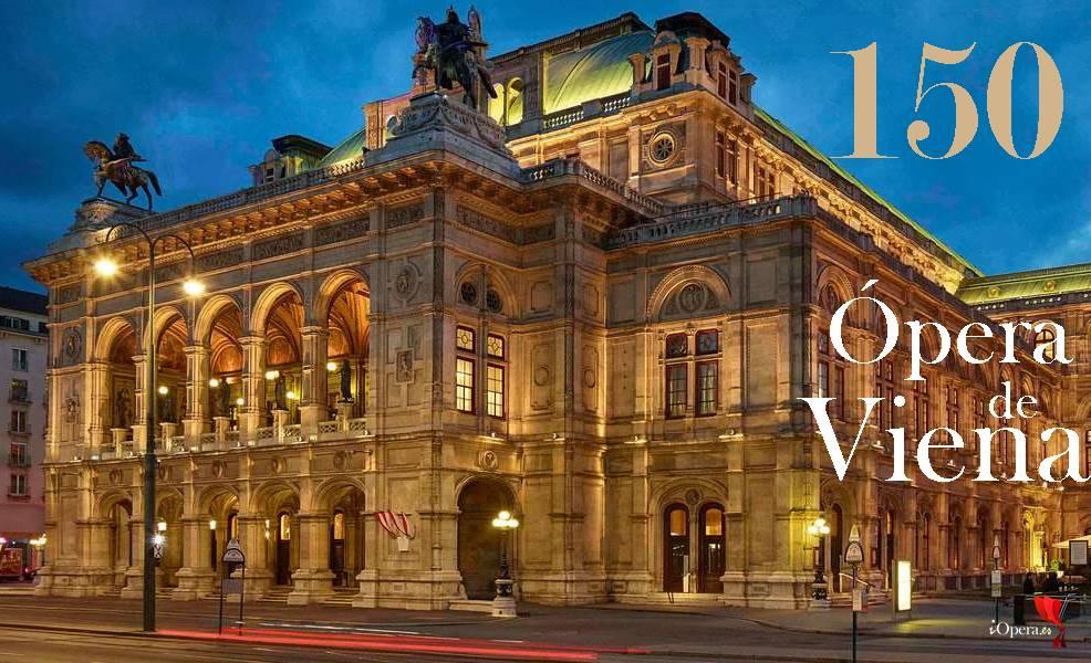 Concierto 150 años de la ópera de Viena vídeo aniversari