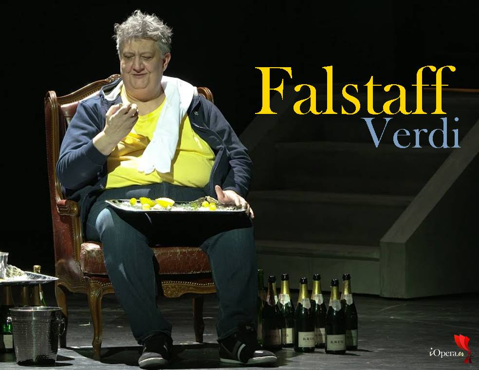 Falstaff de Verdi en Hamburgo vídeo ópera