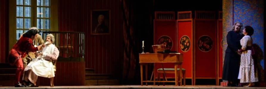 El barbero de Sevilla en Venecia, desde el Teatro la Fenice, vídeo de la ópera bufa de Gioachino Rossini,