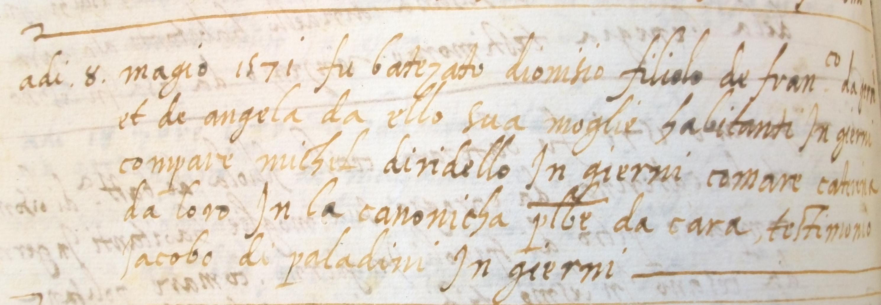 Genealogia Redaelli: i Re da Ello?