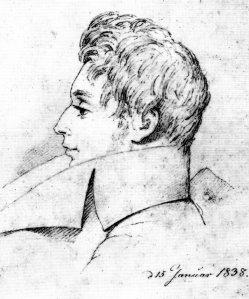 Søren ritratto dal cugino NEL 1838