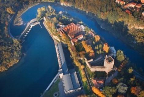 castello Trezzo, origine del nome Trezzo, toponimi Lombardia, Archeologia medioevale a Trezzo