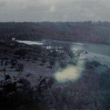 Idroelettricità lungo l'Adda, isole e rive scomparse