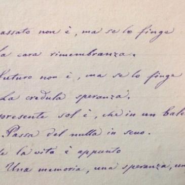 Bizzozero: la poesia in archivio