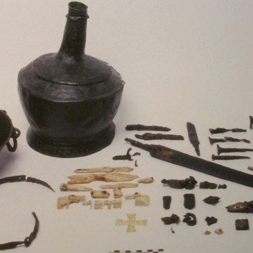 Longobardi, la croce e la spada sepolte