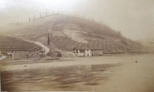 """La cascina Barchetto, sostituita dalla centrale """"Bertini"""", idroelettricità, adda, turismo adda, centrali edison"""
