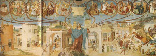 Reginaldo da Priverno, tommaso d'aquino, raimondo spiazzi, Quid paleis ad triticum?, Summa Theologiae, Letilogia, Bettino Uliciani, Danza Macabra, danza macabra Clusone, Trionfo della Morte, durer, il cavaliere la morte e il diavolo, carlo sini, edmund husserl, alex pagliardini, trionfo morte palermo, Omnis caro fenum, fenus, Nera Mietitrice, Hieronymus Bosch, Il carro di Fieno, Ludovico Guicciardini, cacciata adamo eva, inferno, trittico bosch, ogni carne è fieno, discorso della montagna, essere e tempo, martin heidegger, tertulliano, De resurrectione carnis, ogni uomo è come l'erba, morte, falce morte, saturno, cronos, vanitas, omnis caro fenum