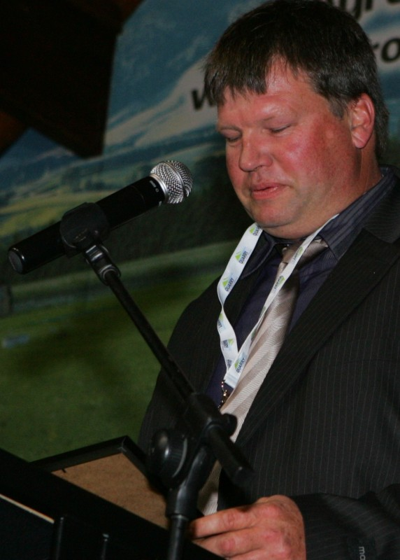 Allan McDowell - 2011 Goughs CAT Award Winner