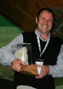 Tony Hunter - 2011 RD Hassed Memorial Trophy Winner