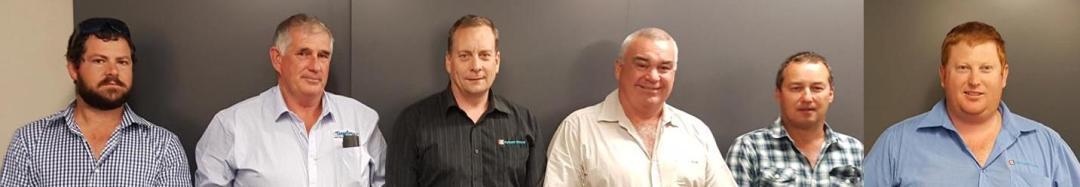 Marlborough / Tasman Branch Committee 2017<br />Kyle Paddon, Neil McKay, Andy Allen, Neil Kydd (Chairman), Trevor Newport (Secretary), Troy Adamson