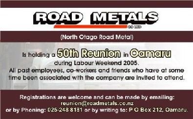 Road Metals -runion