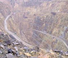 Waihi Mine pit