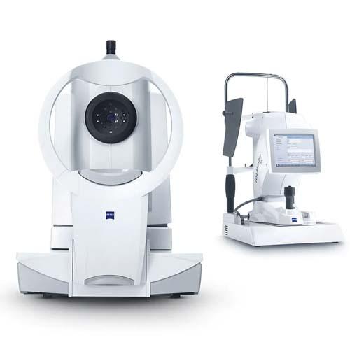 Angiografía OCT(con Tomografía de Coherencia Óptica). Instalaciones y equipación para los problemas oculares del Instituto Oftalmológico Recoletas.