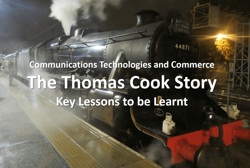 Communications, Technologies and Commerce - The Thomas Cook Story