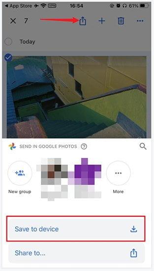 Adicionar fotos do PC no iPhone através do Google Photo