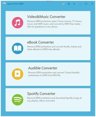 Начать удаление DRM из iTunes Spotify Music
