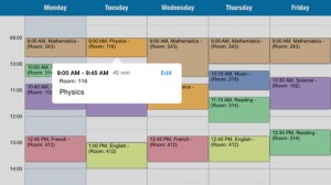 weekly schedule when time matters iphone app review ss3