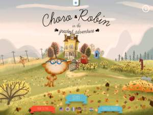 Choro & Robin Adventure iPad App Review ss1