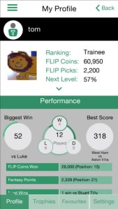flip sports iphone app review ss3