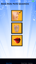 body parts - basic iPhone app review ss3