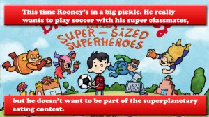 brave rooney and the super-sized superheroes iphone app review ss1