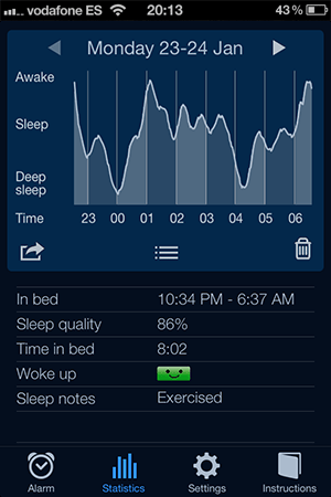 Sleep Cycle alarm clock ios