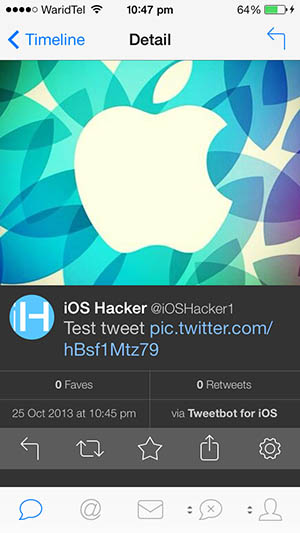 Tweetbot 3 detail tweet page