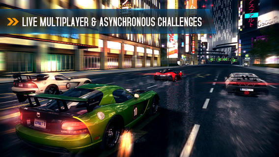 Asphalt 8 multiplayer iPhone