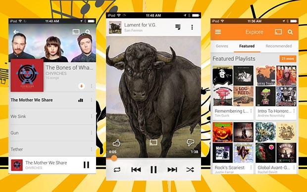 Google Play Music iOS