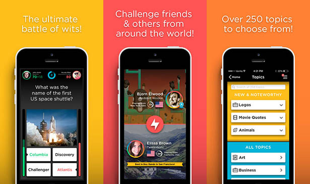 QuizUp iPhone