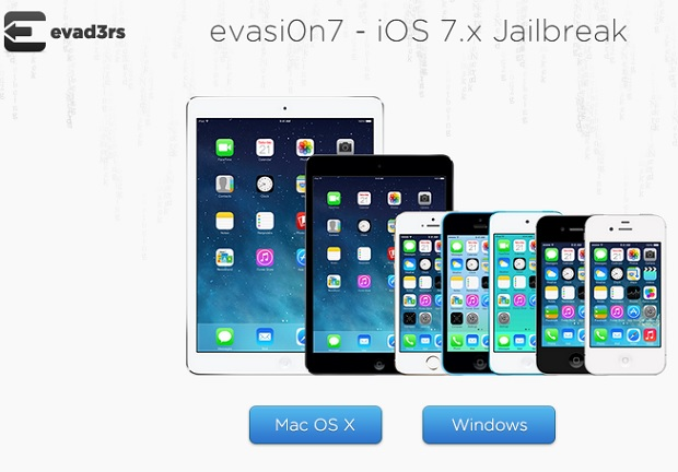 iOS 7 jailbreak evasi0n