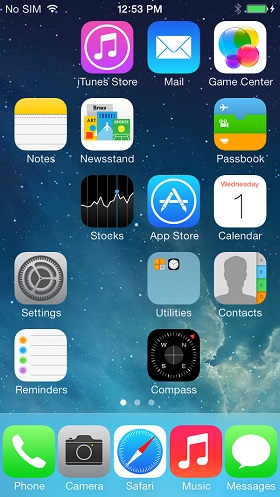 Infinidock tweak iOS 7