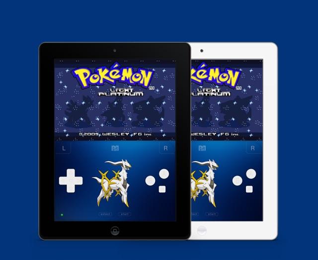 GBA4iOS-Pokemon-app