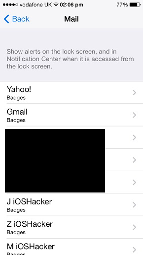how to remove badge for unread emails from mail app 39 s icon ios hacker. Black Bedroom Furniture Sets. Home Design Ideas