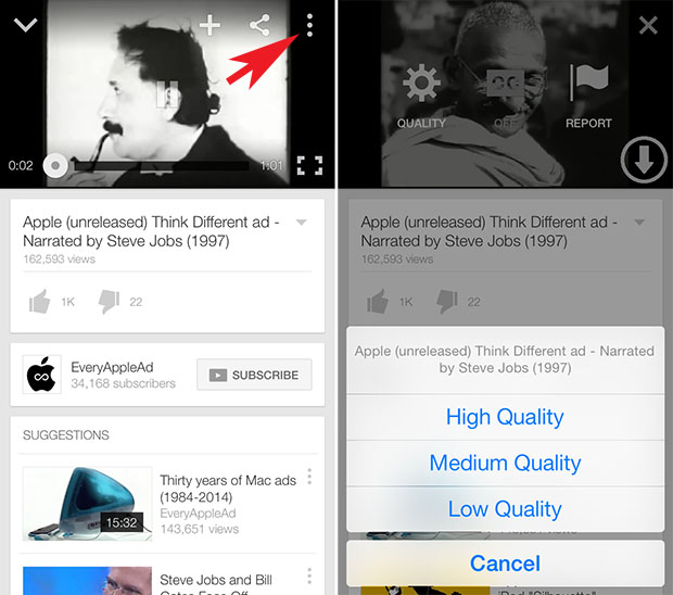 Youtuber tweak adds download feature to youtube app for free ios official youtube app doesnt allow you to download any video however there are many tweaks that make it possible for users to download videos from youtube ccuart Image collections