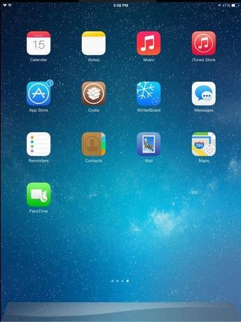 Yosemite for iOS iPad