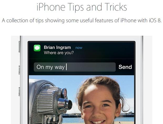 iOS tips website