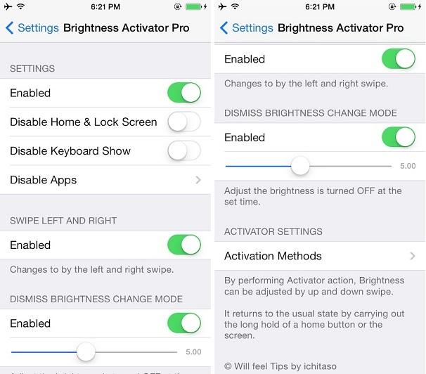 Brightness Activator Pro tweak (2)