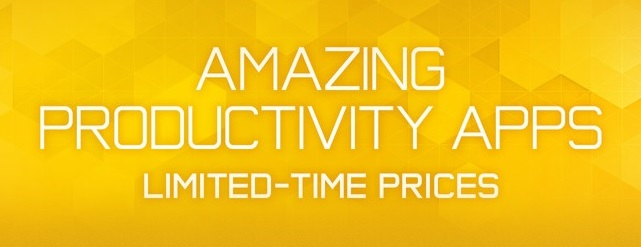 Productivity apps banner