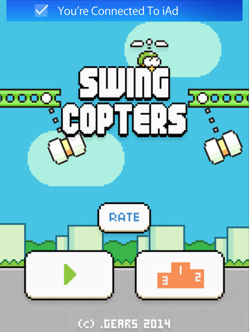 Swing Copters game