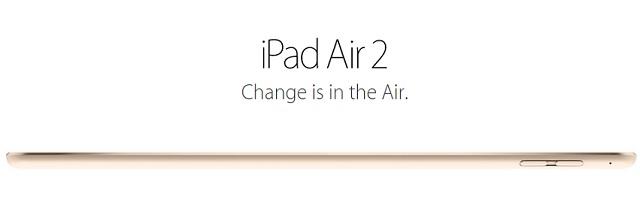 iPad air 2 main