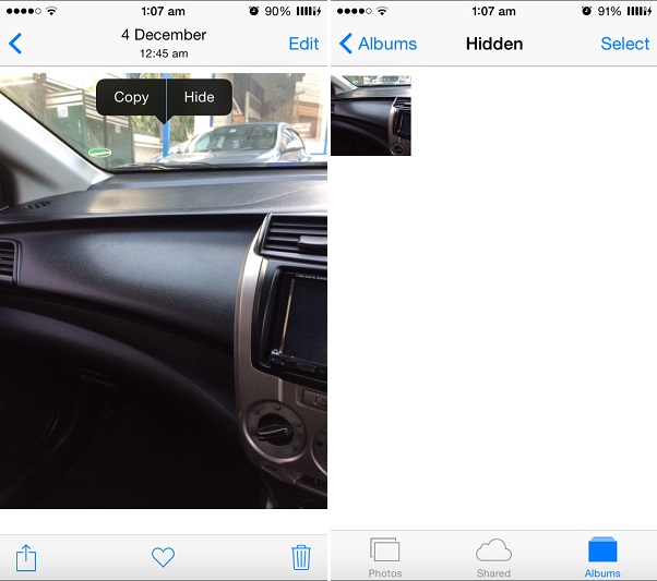 Photo hide iOS 8 (1)