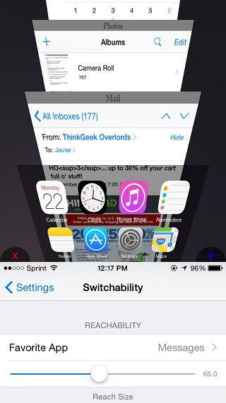 Switchability tweak