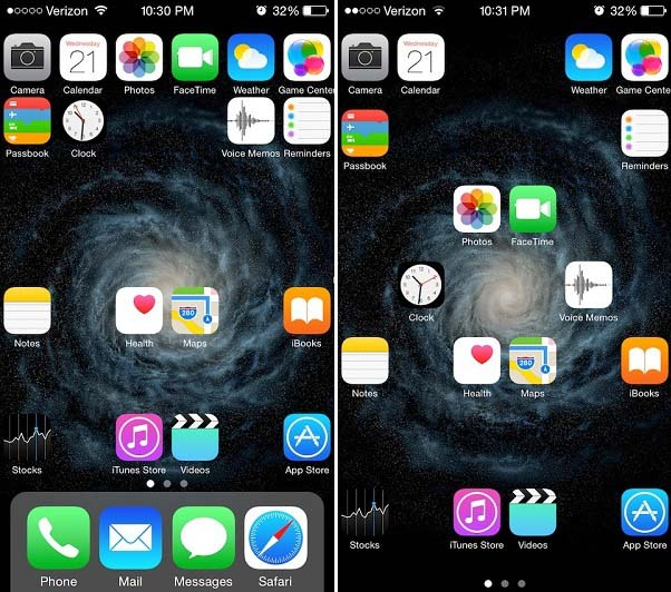 Anchor tweak lets you place icons anywhere on the homescreen - iOS ...