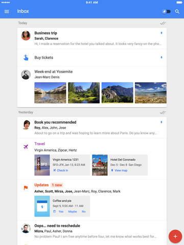 Inbox for iPad