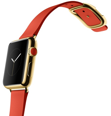 38mm 18 karat gold Apple watch