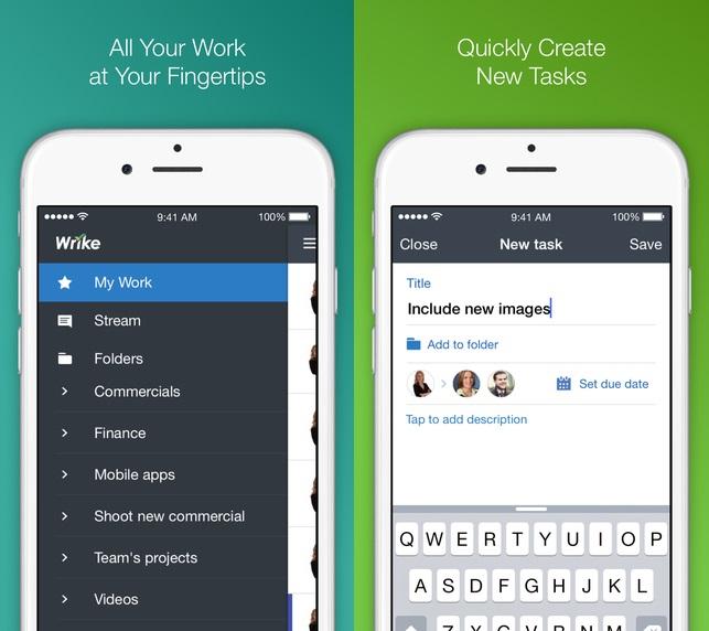 Wrike app 1