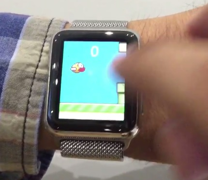 Flappy Bird Apple Watch