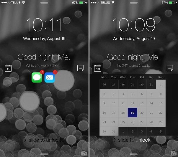 FutureLock lite tweak